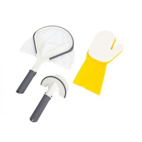 Image of   Lay-z Universal rengøringssæt (net, skrubbe, handske)