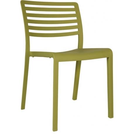 Image of   Plaststol Lama - oliven grøn