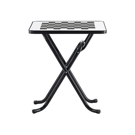 Image of   Play skak bord - hvid/sort