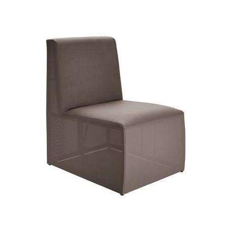 Image of   Loggia Loungemodul Stol - grå-brun