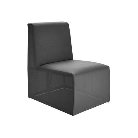 Image of   Loggia Loungemodul Stol - antrazit grå
