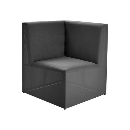 Image of   Loggia Loungemodul Hjørne - antrazit grå