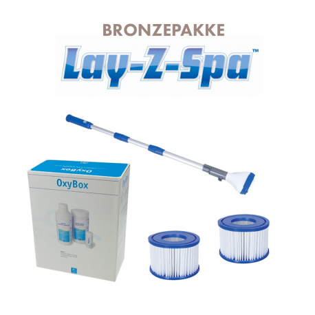 Image of   Bronzepakke til Lay-Z spa