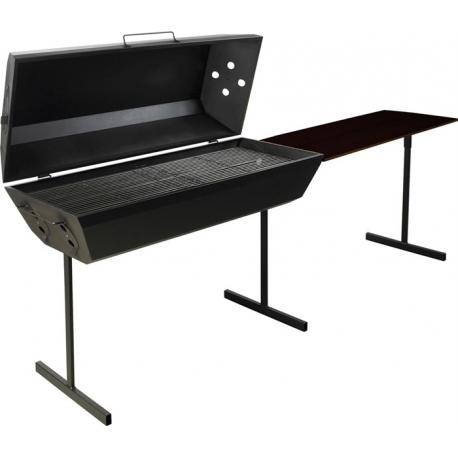 Image of Z-BBQ GourmetRoaster kulgrill med sidebord