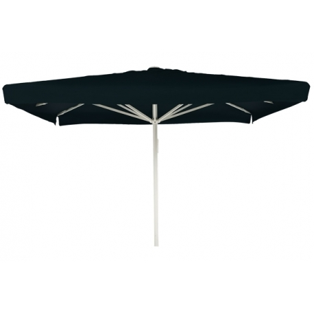 Image of   Kæmpeparasol Sunbrella 5 x 5 m med frisekant - Sort