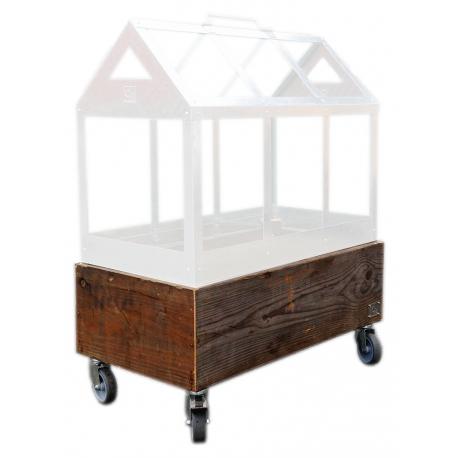 Image of   Greenhouse Maxi boks (uden drivhus) med hjul 62x32x29 cm