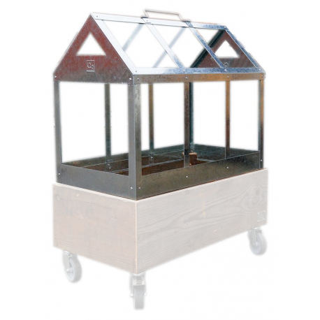 Image of   Greenhouse Maxi Drivhus (uden boks) 62x32x50H cm